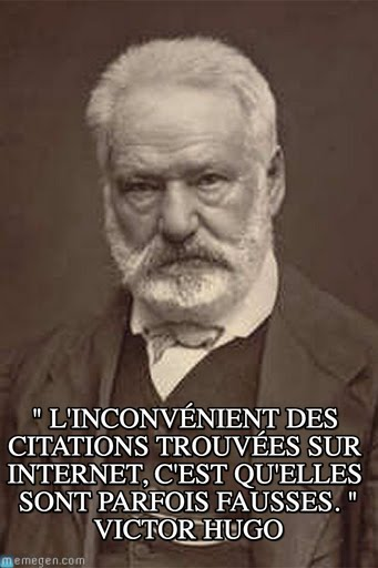 fausses citations hugo